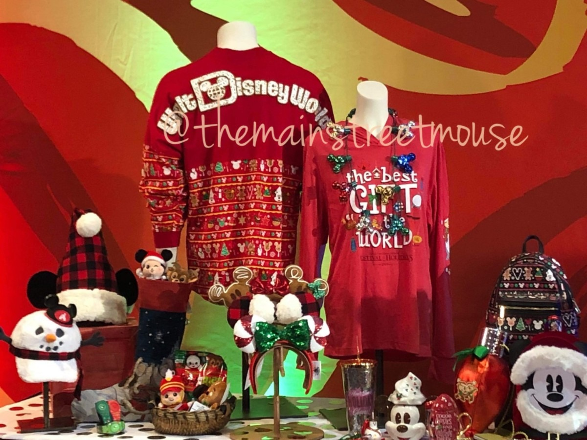 NEW Festive Merchandise Coming to WDW for the Christmas Season! #DisneyHolidays 1