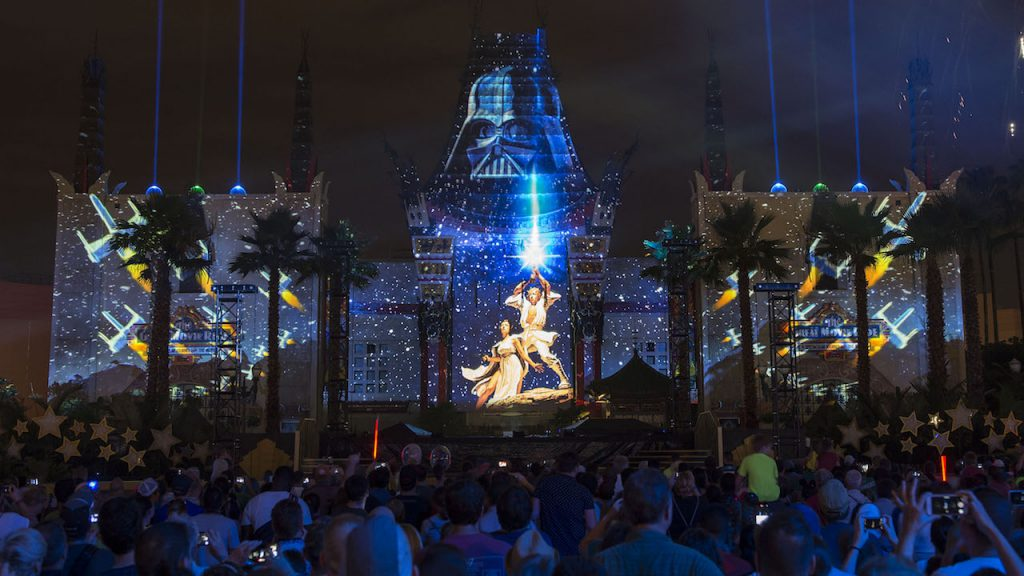 'Star Wars: A Galactic Spectacular' at Disney's Hollywood Studios
