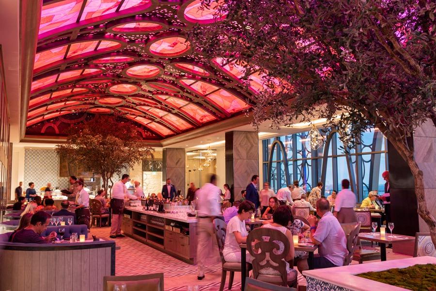 Tolédo – Tapas, Steak & Seafood, the new rooftop restaurant at the top of Gran Destino Tower at Disney's Coronado Springs Resort
