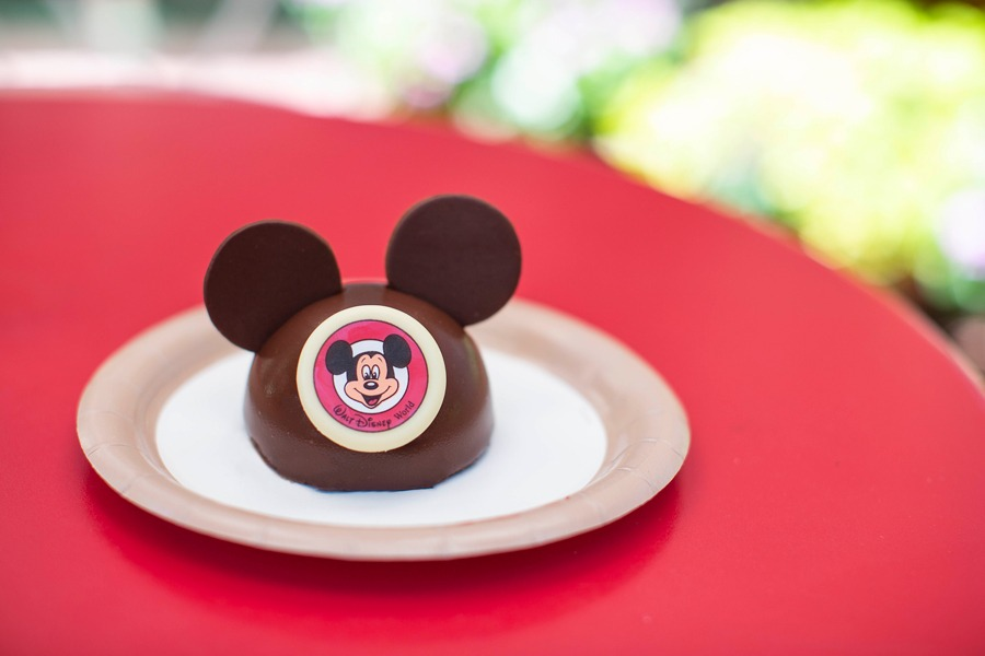 Mickey Dome Cake from Pecos Bill Tall Tale Inn & Café at Magic Kingdom Park