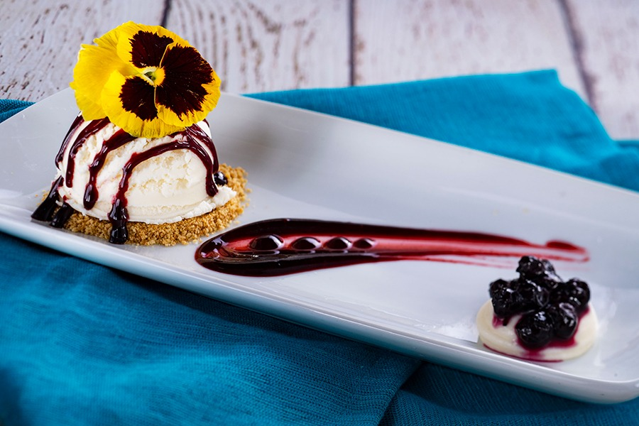 Complimentary Sweet Treat at Coral Reef Restaurant
