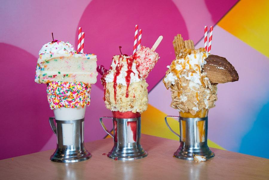 CrazyShake Milkshakes from Black Tap Craft Burgers & Shakes at the Downtown Disney District