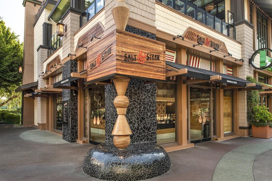 Salt & Straw at the Downtown Disney District