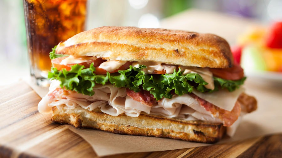 Hot Sandwich from Earl of Sandwich at the Downtown Disney District