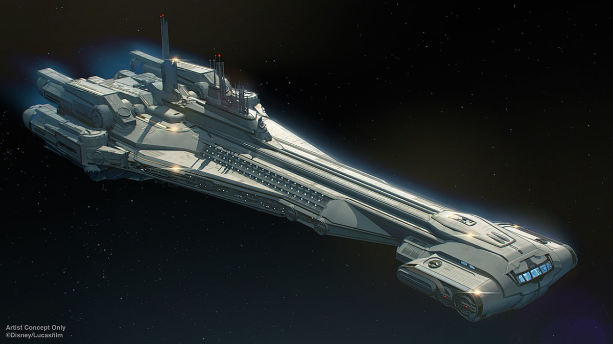 Star Wars News from D23: Galactic Starcruiser Will Take Walt Disney World Resort Guests to a Galaxy Far, Far Away 1