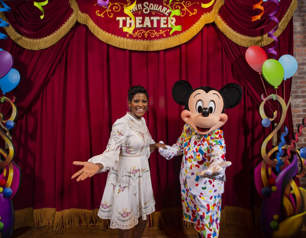 Tamron spent time with Mickey Mouse as he continues celebrating his 90th birthday.