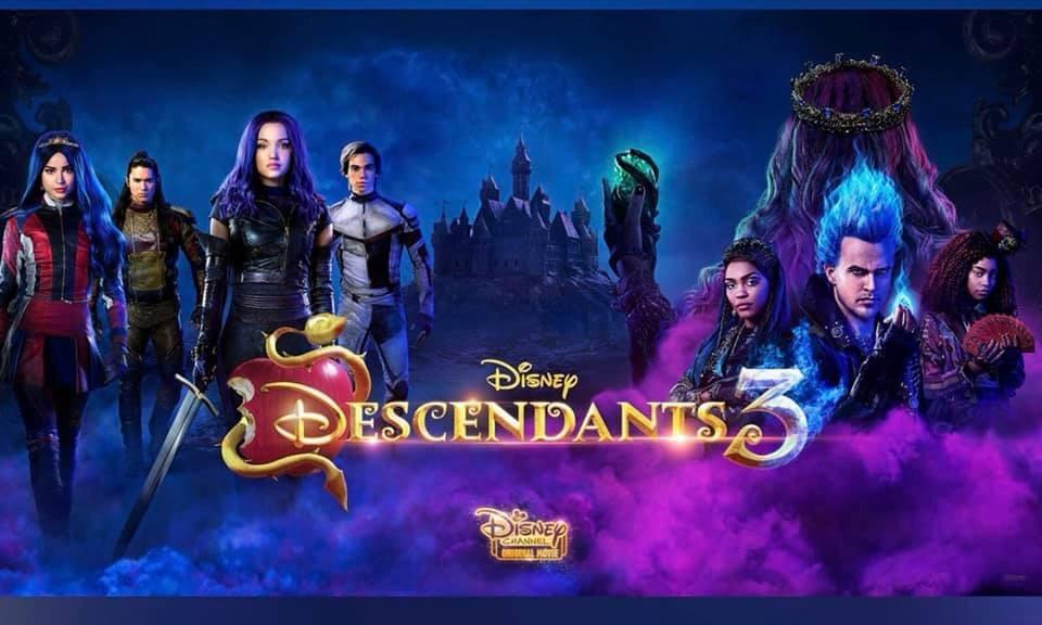 Descendants 3 Debuts Tonight on Disney Channel! #descendants3 2