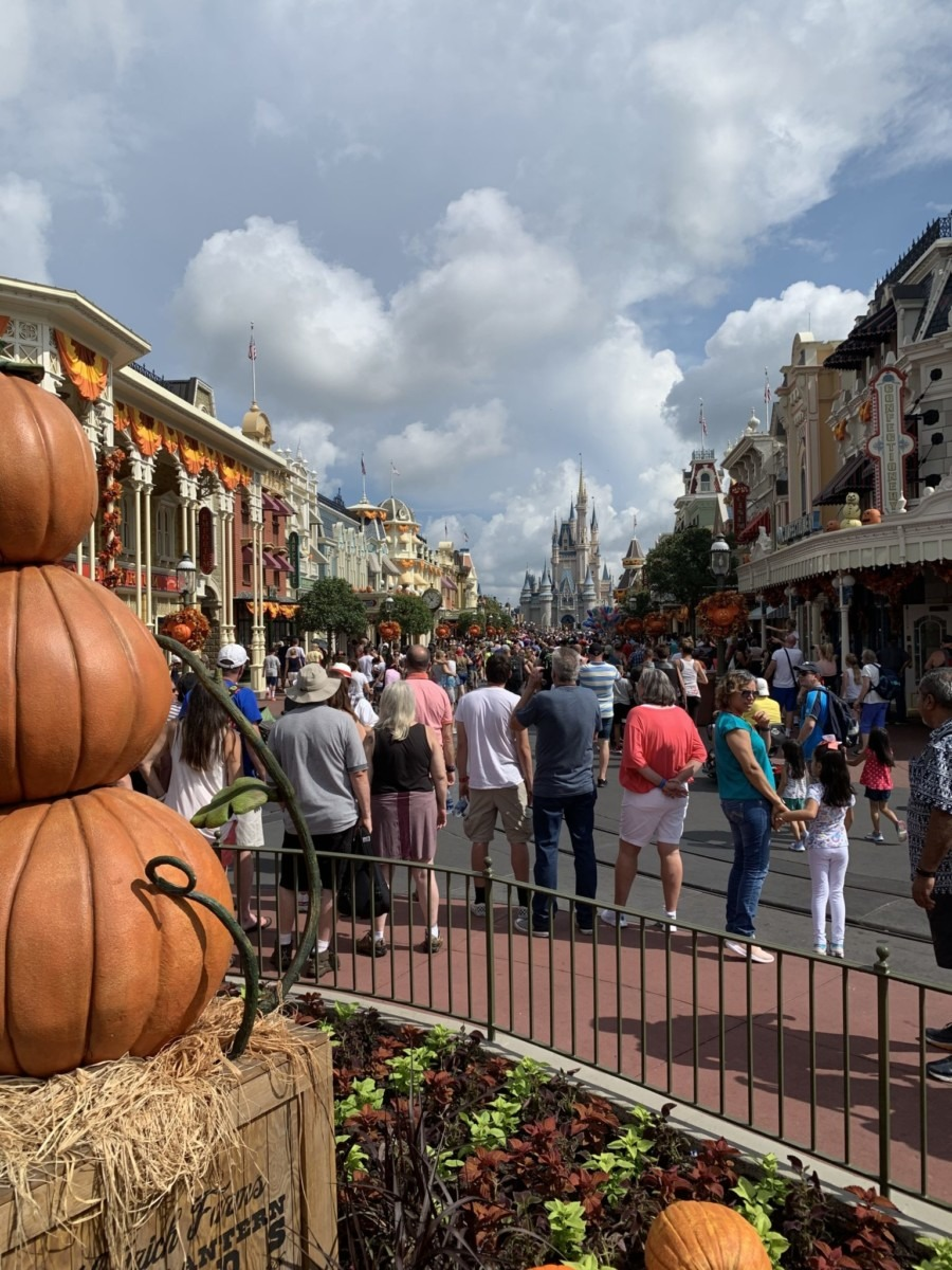 Halloween Decorations at Magic Kingdom! Boo to You! 7