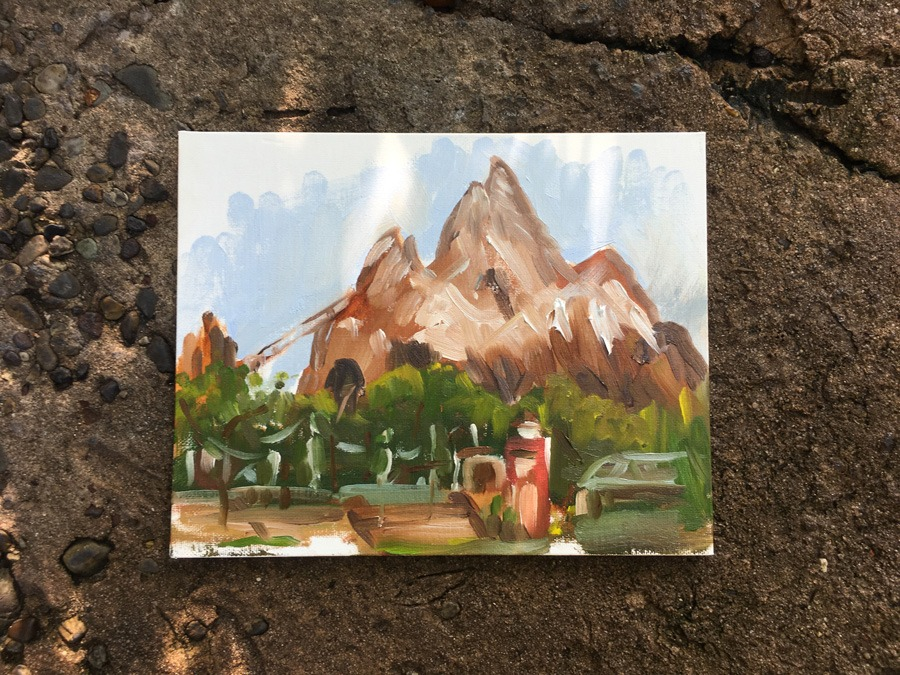 Sketches from the park