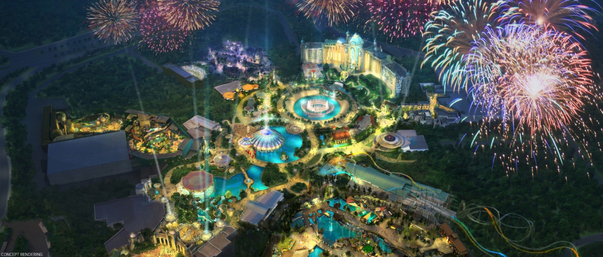 UNIVERSAL ORLANDO RESORT ANNOUNCES AMBITIOUS NEW THEME PARK 2