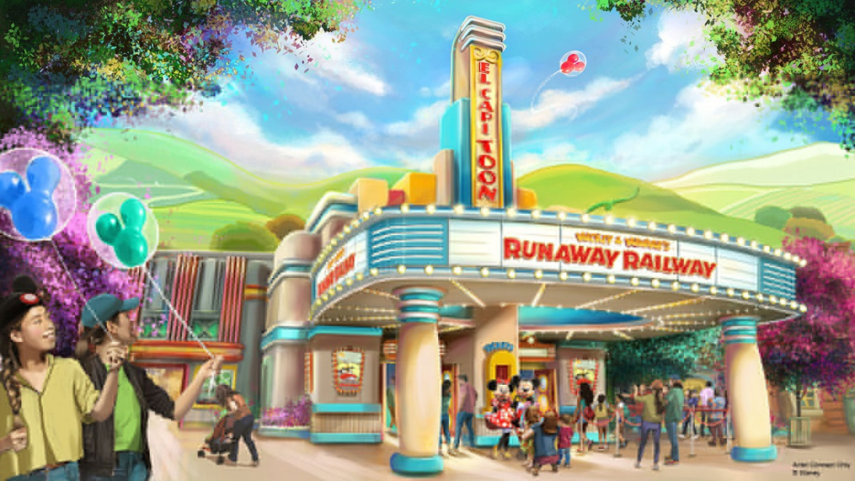 More News From D23...New Details Unveiled for Mickey & Minnie's Runaway Railway, Coming to Disneyland Park and Disney's Hollywood Studios 1