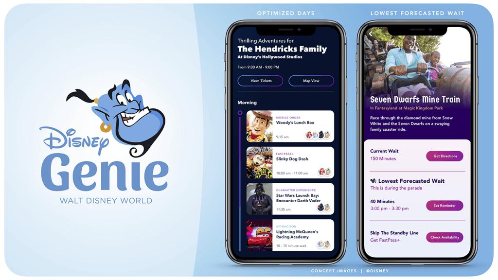 Walt Disney World News From D23: Revolutionary New Digital Offering, 'Disney Genie,' Coming to Walt Disney World Resort 1