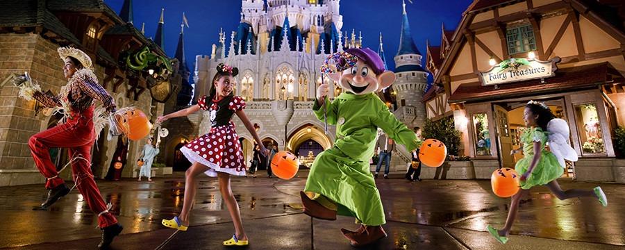 New Mickey's Not-So-Scary Halloween Party
