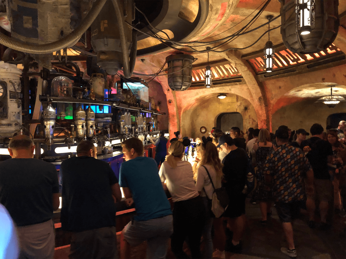 "The New ""Most Wretched Hive of Scum and Villainy"": A Review of Olga's Cantina at Star Wars: Galaxy's Edge 2"