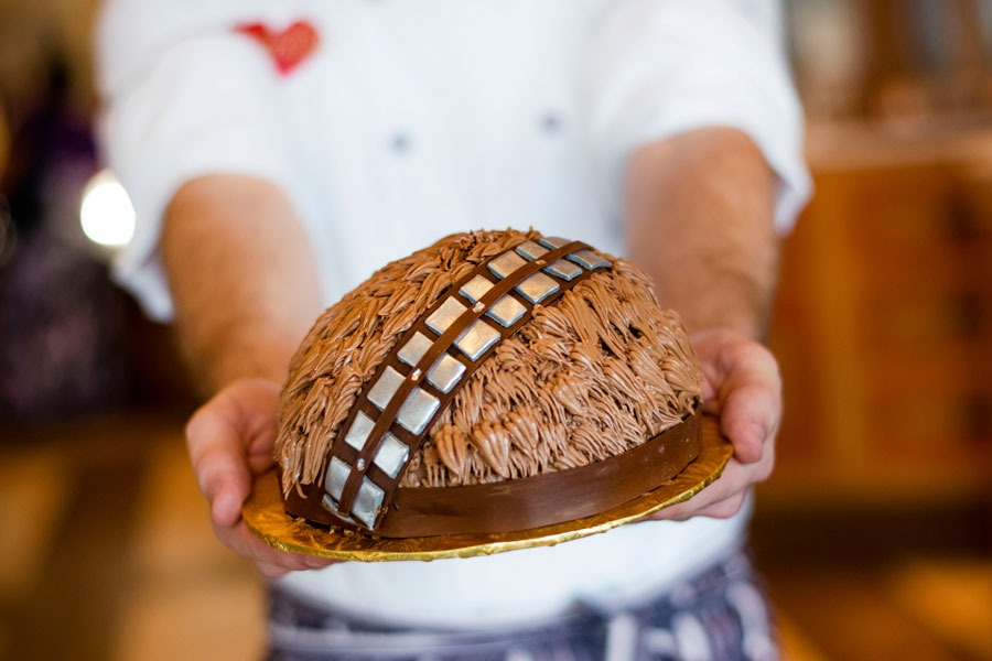 Chewbacca Cake from Amorette's Patisserie at Disney Springs