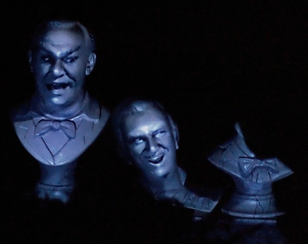 Do You Know? The Haunted Mansion Singing Busts? 1