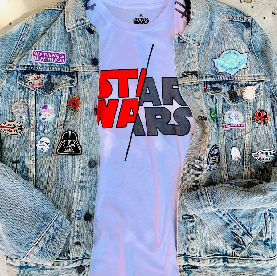 Customized Star Wars patches and pins