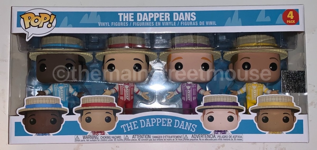 Haunted Mansion And Dapper Dan's Funko Items 1