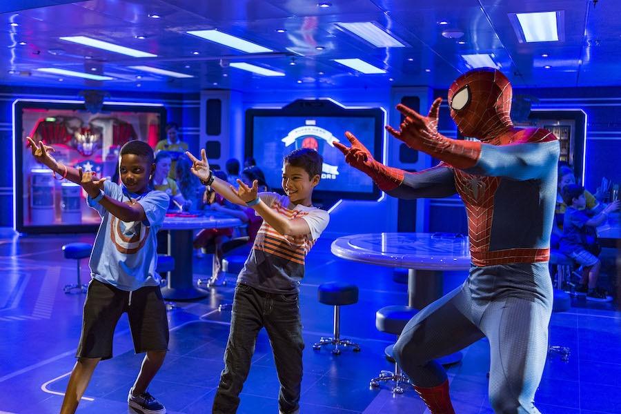 Marvel Super Hero Academy on the Disney Magic