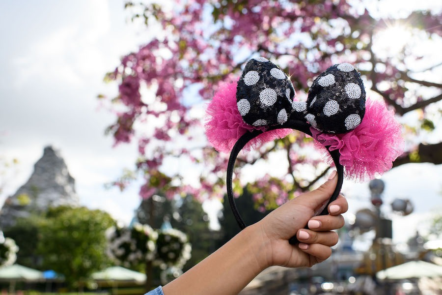 Necklace from the Disney Parks Collection x Betsey Johnson Minnie Ear Headband