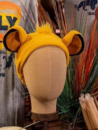 plush Simba ears