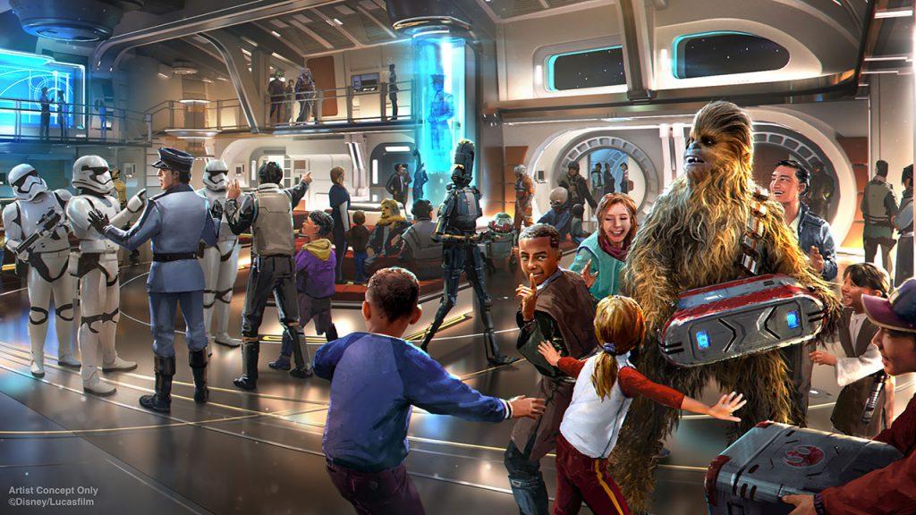 Star Wars News from D23: Galactic Starcruiser Will Take Walt Disney World Resort Guests to a Galaxy Far, Far Away 2