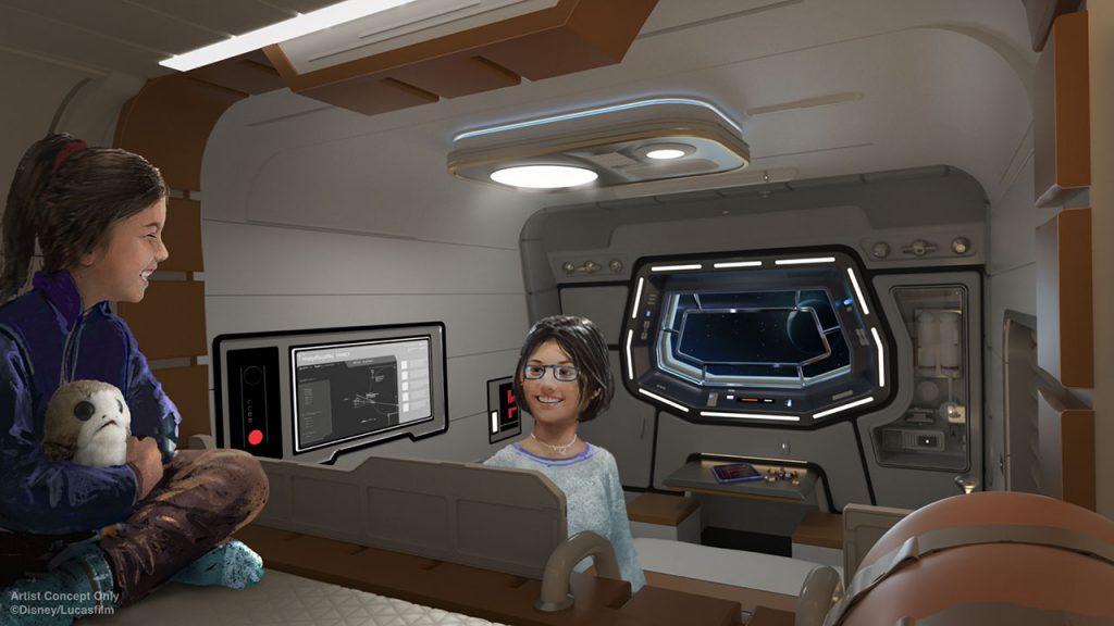 Star Wars News from D23: Galactic Starcruiser Will Take Walt Disney World Resort Guests to a Galaxy Far, Far Away 4