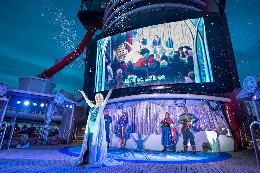 """Frozen, A Musical Spectacular,"""