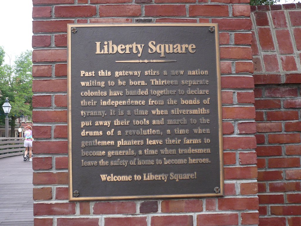 Did You Know? Liberty Square At The Magic Kingdom 1