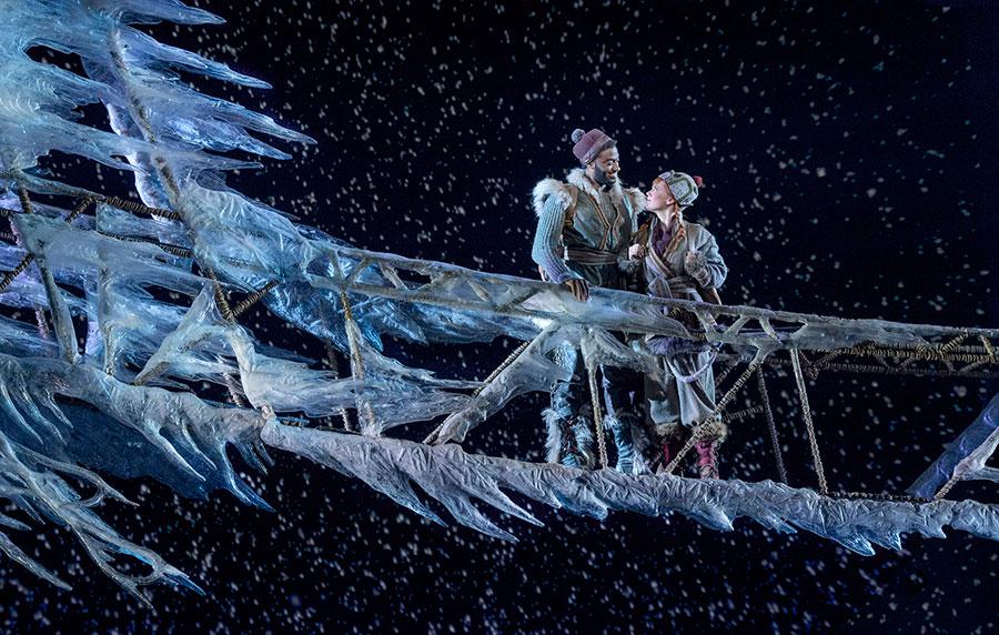 Frozen on Ice, Disney on Broadway