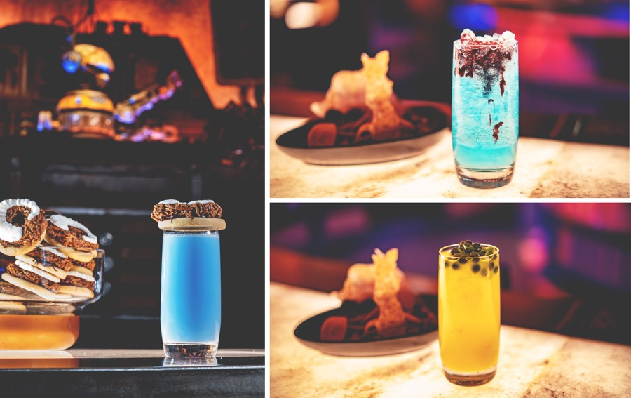 Specialty Beverages without Alcohol from Oga's Cantina at Star Wars: Galaxy's Edge