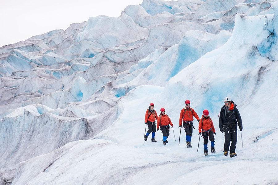 Glacier hiking in Alaska with Disney Cruise Line