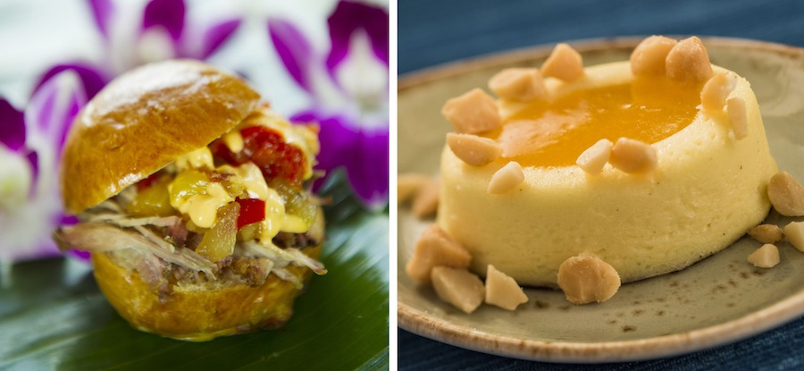 Offerings from the Hawaii Marketplace for the 2019 Epcot International Food & Wine Festival