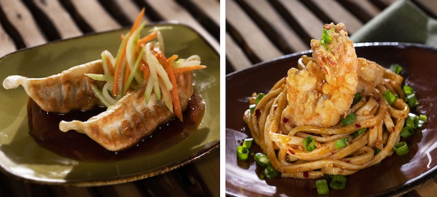 Offerings from the China Marketplace for the 2019 Epcot International Food & Wine Festival