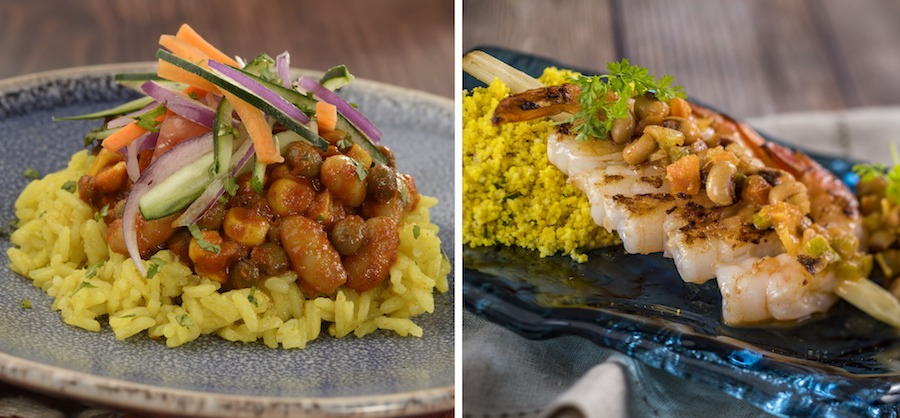 Offerings from the Africa Marketplace for the 2019 Epcot International Food & Wine Festival