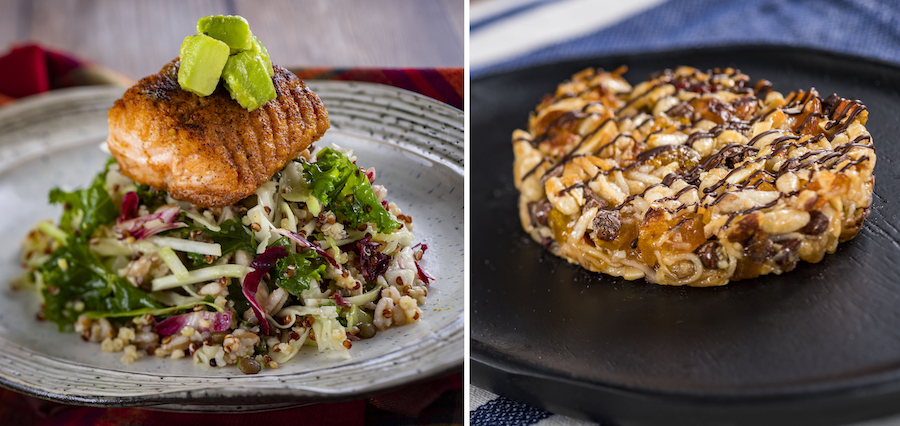 Offerings from the Active Eats Marketplace for the 2019 Epcot International Food & Wine Festival
