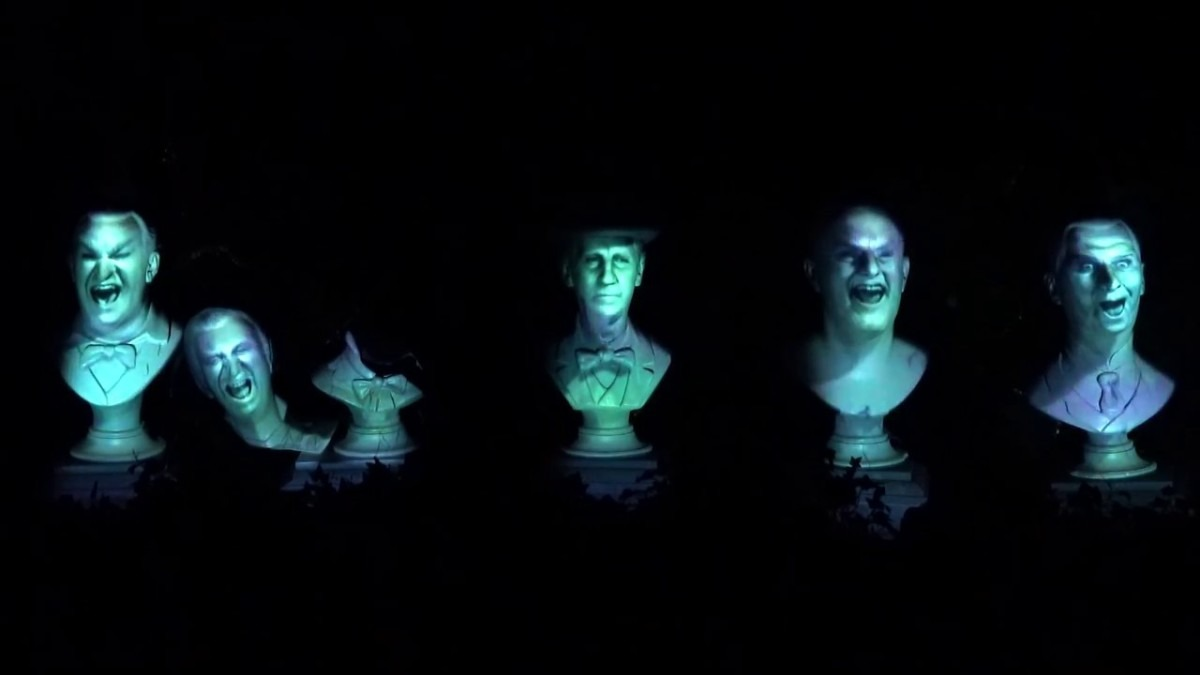 Do You Know? The Haunted Mansion Singing Busts? 2