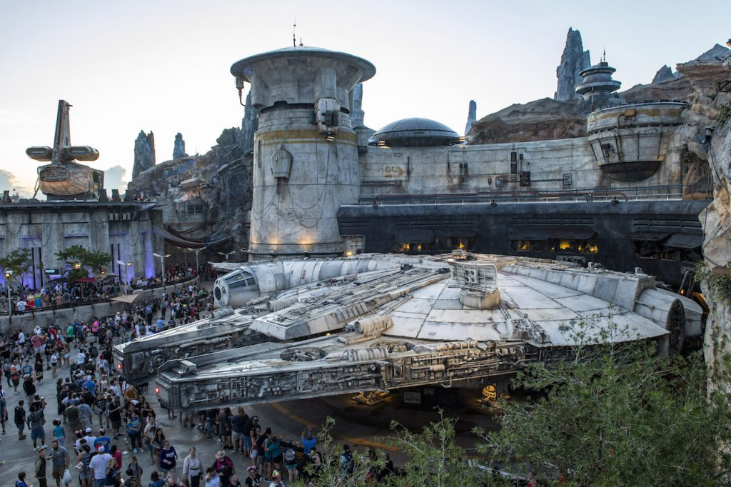 Opening Day for Star Wars: Galaxy's Edge at Disney's Hollywood Studios