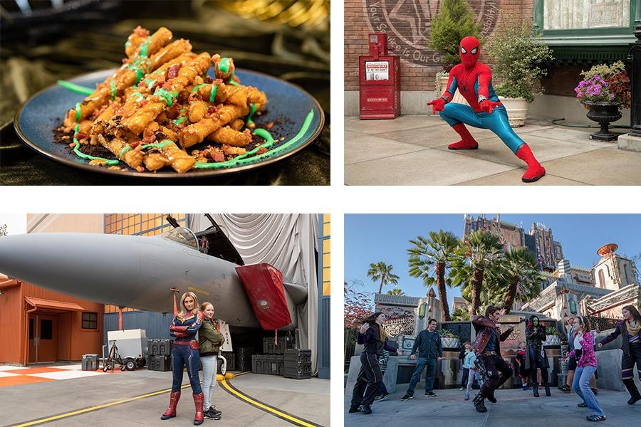 80 years of Super Heroes at Disney California Adventure Park