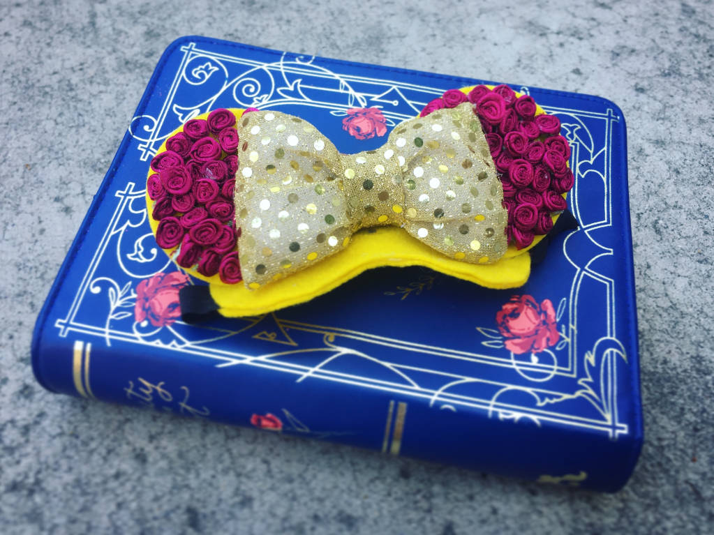 Belle-Inspired Mickey Ears for Your Adventurous Pup 1