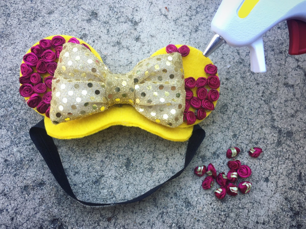 Belle-Inspired Mickey Ears for Your Adventurous Pup 4