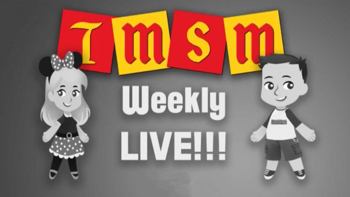 TMSM Weekly LIVE! Video Intro - You Decide! 1