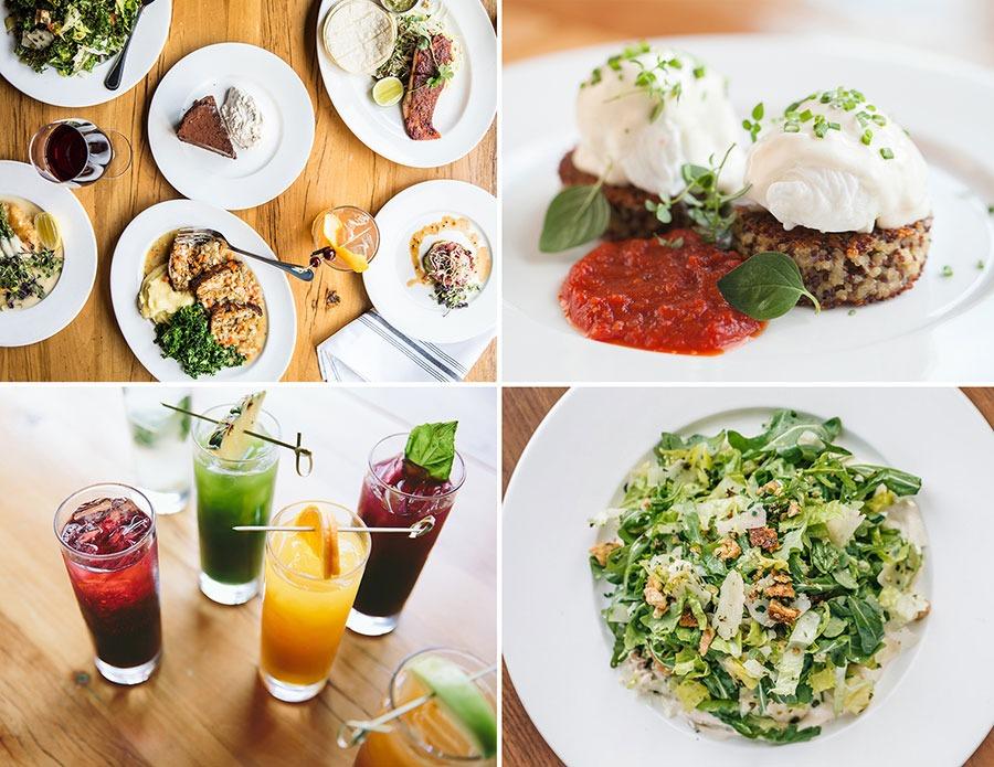 Beatrix food collage