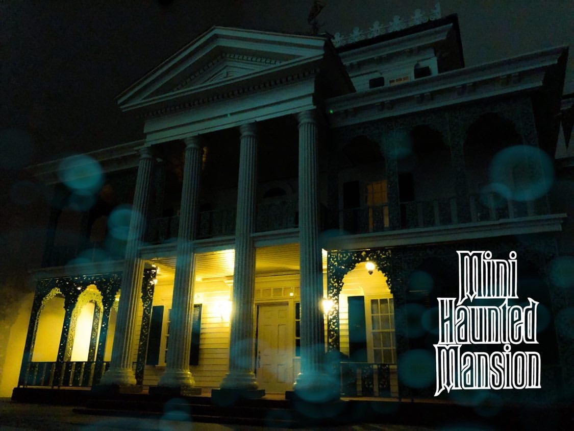 Mini Haunted Mansion Build 1