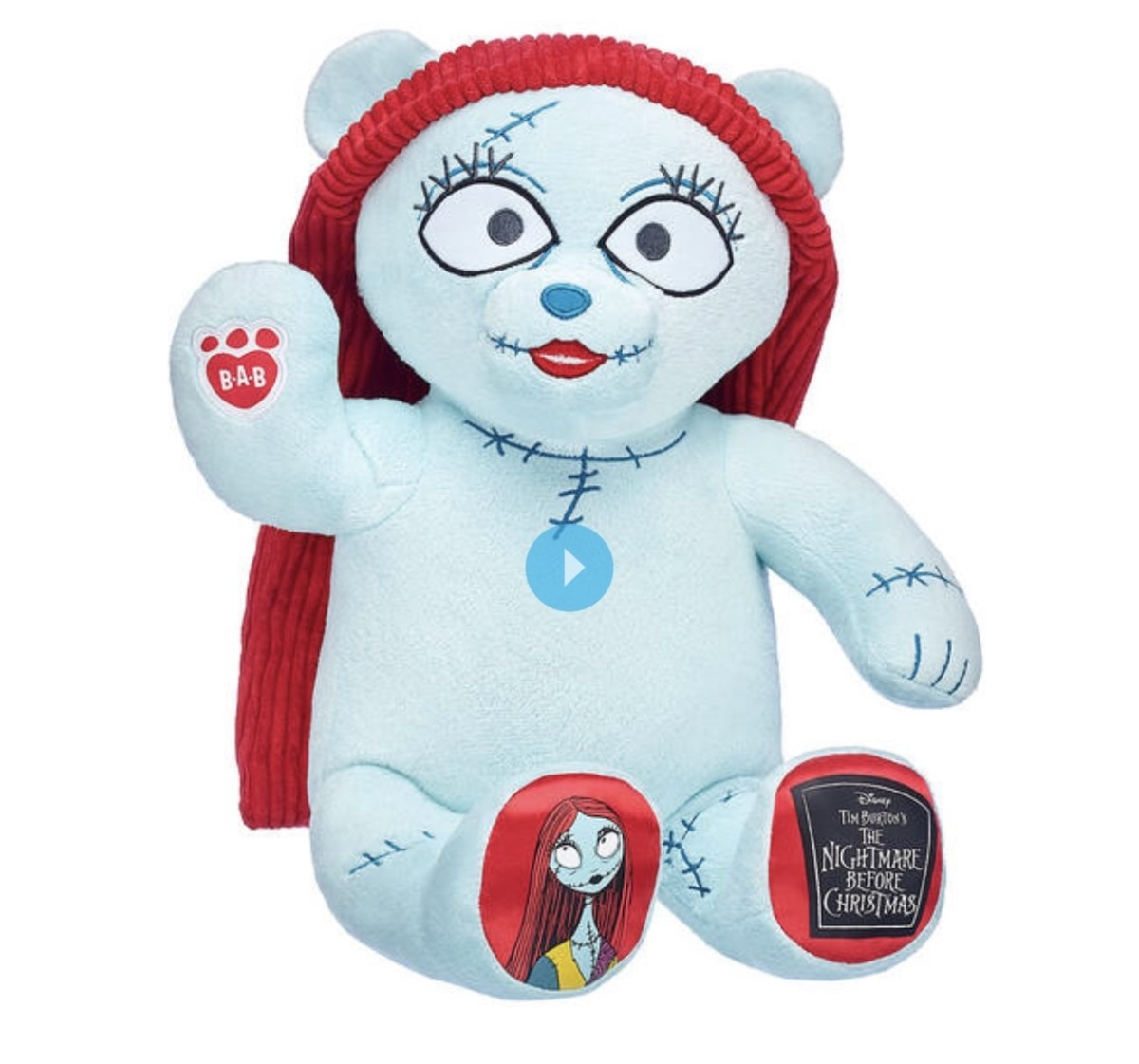 New Jack and Sally Bears from Build A Bear Workshop 3