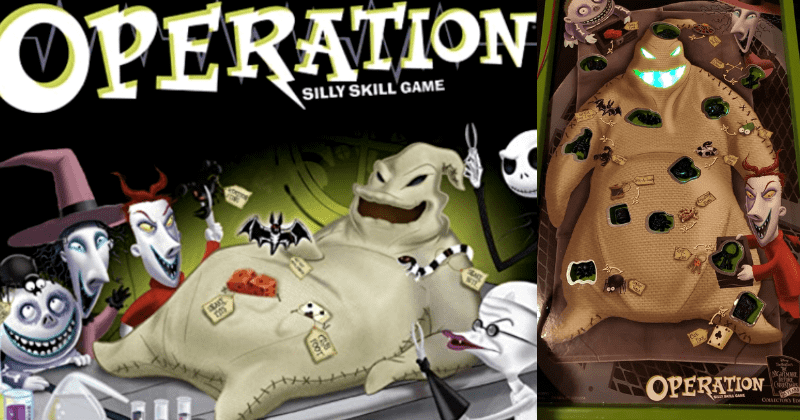 You Can Now Pull Bugs Out Of Oogie Boogie In This 'Nightmare Before Christmas' Operation Game 1