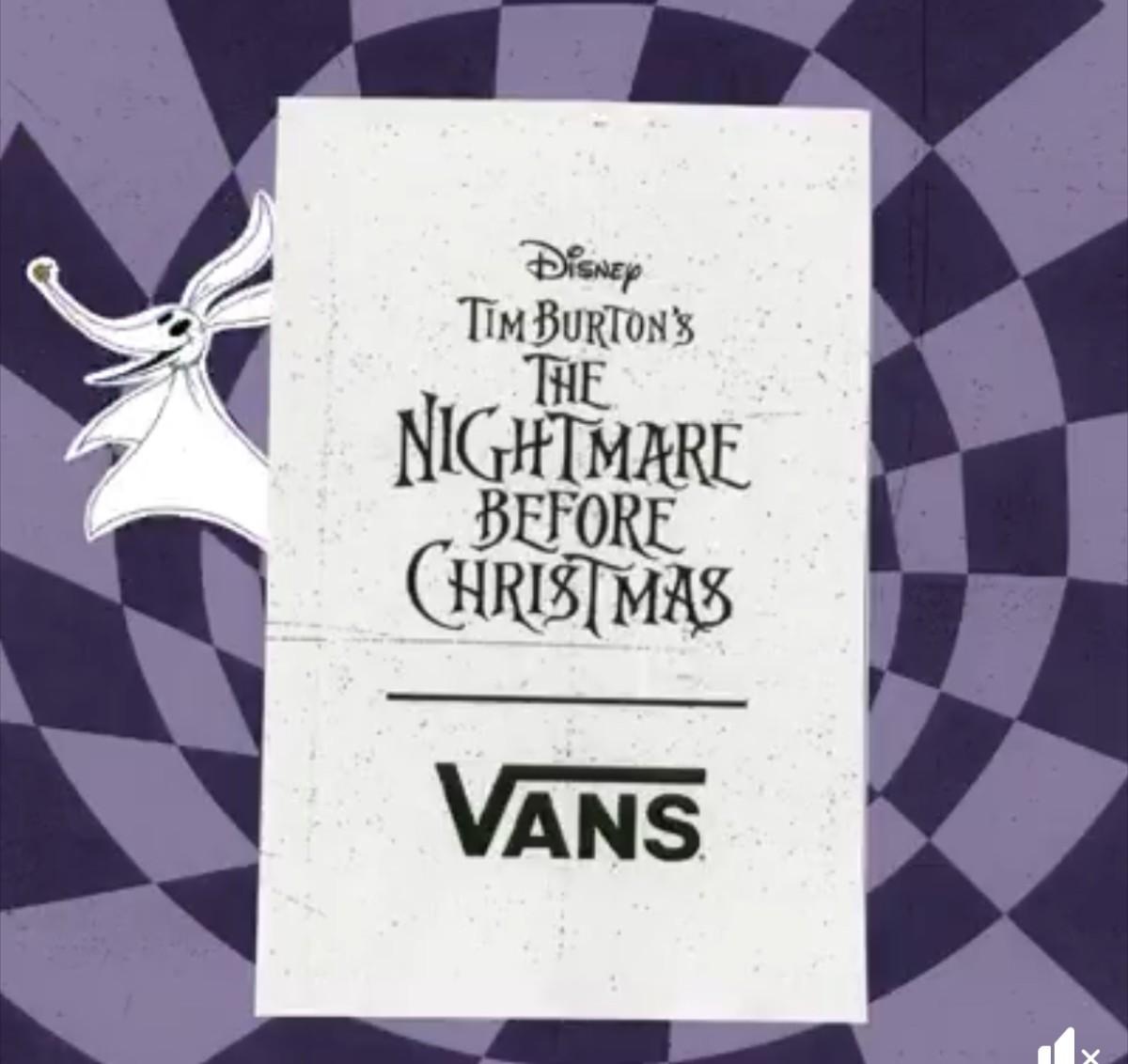 New Nightmare Before Christmas Line Coming Soon from Vans! 1
