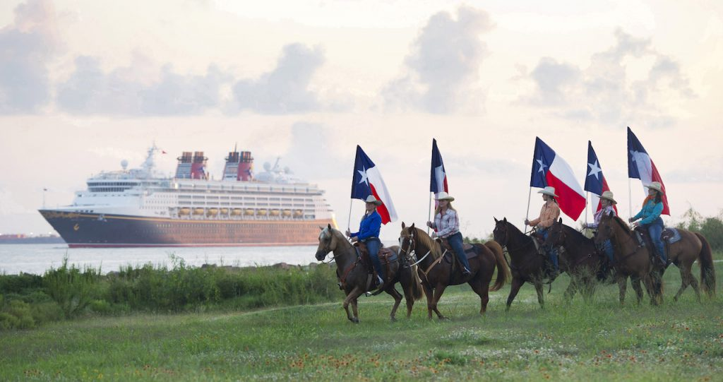 Disney Cruise Line sails from Galveston on a variety of itineraries to the Caribbean and the Bahamas. Guests sailing to the Bahamas will experience tropical beauty with a stop at Disney's private island paradise, Castaway Cay. (Matt Stroshane, photographer)