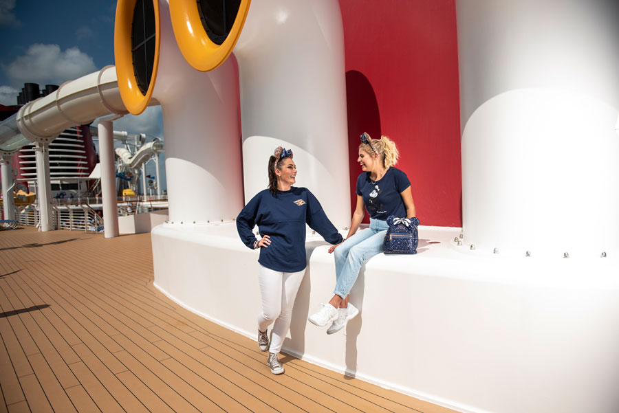 Disney Cruise Line Nautical Navy Collection
