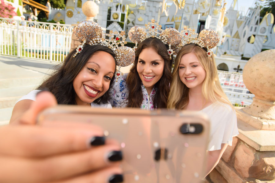 Disney Parks Designer Collection: Heidi Klum's Minnie ear headband
